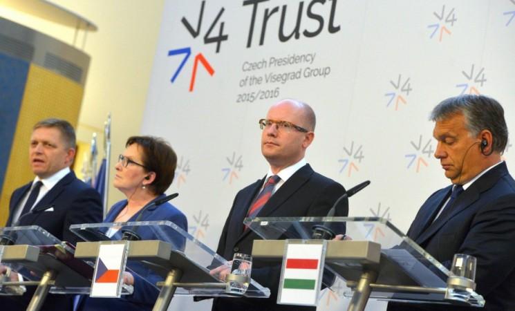 Russlands-Muskelspiele und die Auswirkungen auf die Visegrád-Staaten