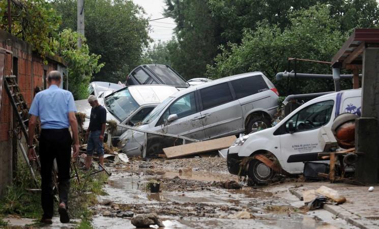 Die politischen Sonnen- und Schattenseiten nach der Flutkatastrophe in Mazedonien