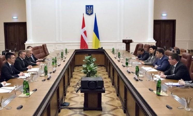 """""""Die Ukraine ist eine der wichtigsten Prioritäten der dänischen Außenpolitik"""""""