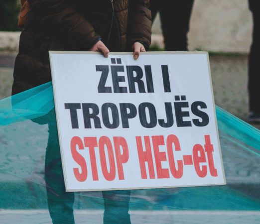 Hydropower plants highlight lack of Democracy in Albania