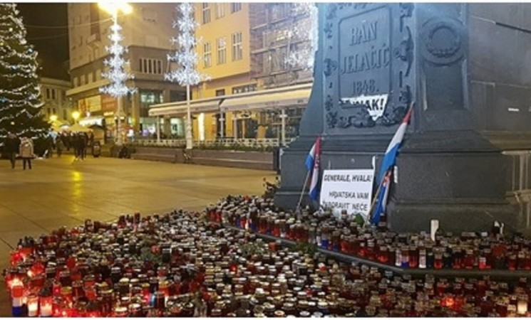 Commemoration Held for Slobodan Praljak - Public Remains Divided