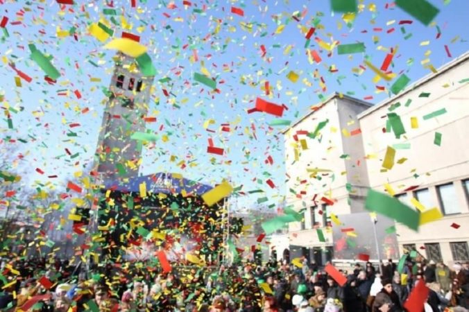 Lithuania: The Restoration of the State Day