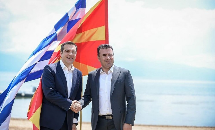 One year anniversary from the Prespa Agreement