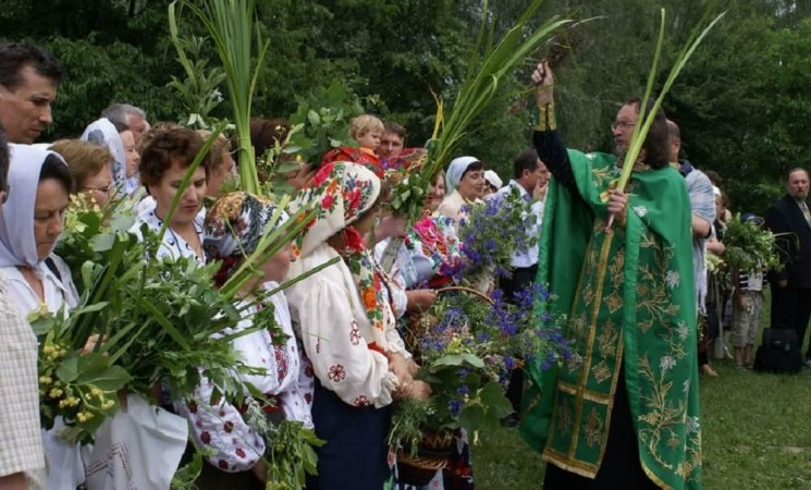 Orthodox Pentecost in Ukraine