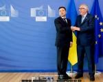 Ukrainian aspirations towards the European Union under the current President Volodymyr Zelensky