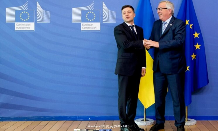 Ukrainian aspirations towards the European Union under the current President Volodymyr Zelensky