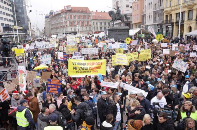 Strike in Croatian Schools