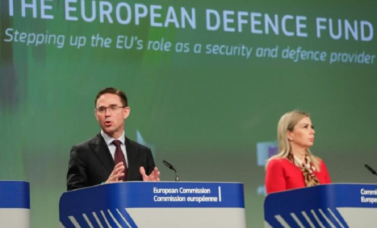 What is the European Defence Fund and what do the Visegrád States say to it?