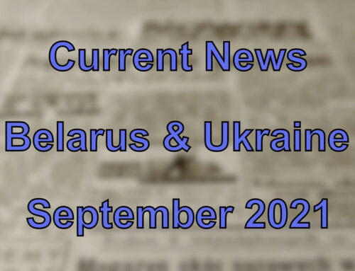 Current News from the Belarus and Ukraine (September 2021)