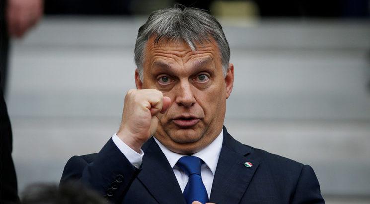 Ungarischer Ministerpräsident gegen Flüchtlinge und Pressefreiheit