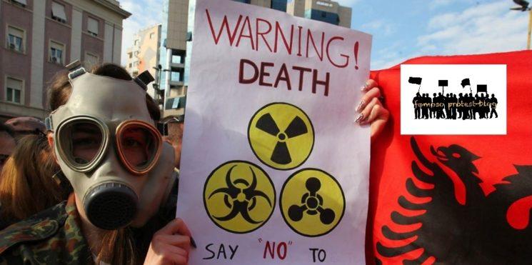 Ein Rückblick auf die albanischen Proteste gegen die Aufnahme von Chemiewaffen