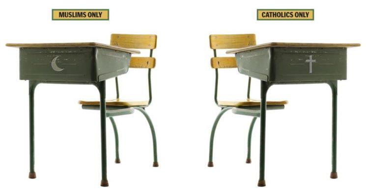 Zwei Schulen unter einem Dach - Das Problem einer gemeinsamen Zukunft