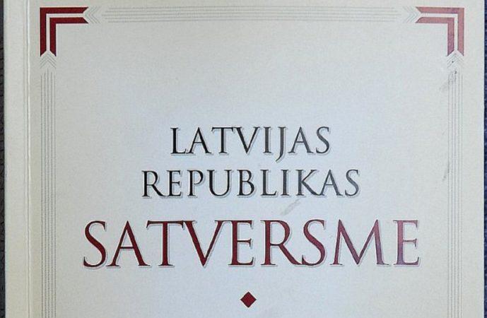 Die Verfassung Lettlands