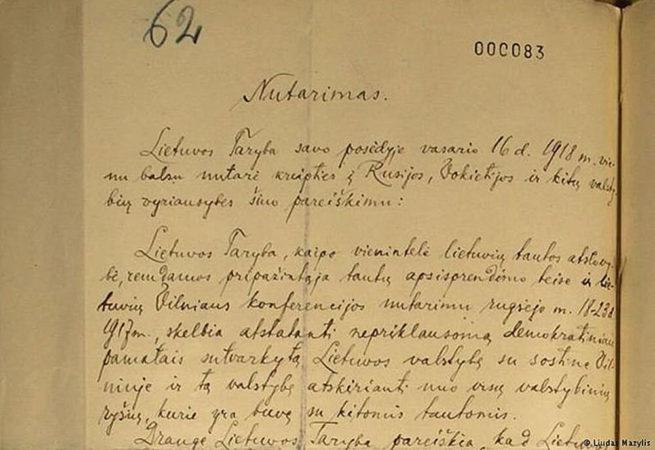 Die verschollene Unabhängigkeitserklärung