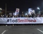 """Das erste Jubiläum der Proteste """"1 von 5 Millionen"""" in Serbien"""