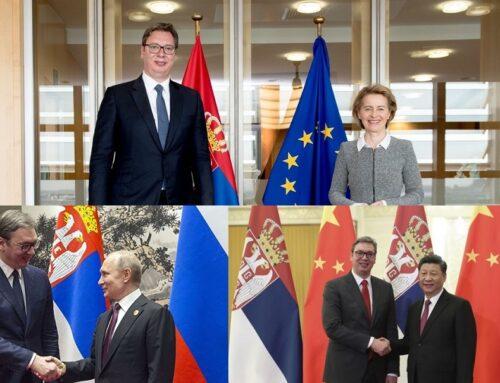 Die außenpolitische Strategie Serbiens zwischen der EU, China und Russland am Beispiel der Impfpolitik