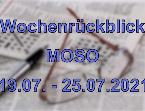 Wochenrückblick: Kurznachrichten aus den MOSO-Ländern (19.07.2021 – 25.07.2021)