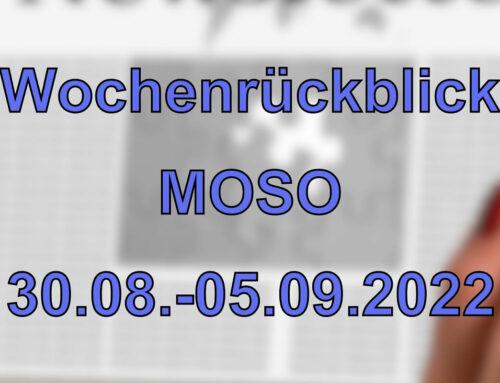 Wochenrückblick: Kurznachrichten aus den MOSO-Ländern (30.08. – 05.09.2021)