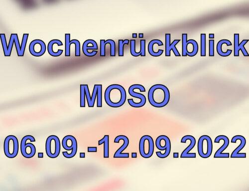 Wochenrückblick: Kurznachrichten aus den MOSO-Ländern (06.09. – 12.09.2021)