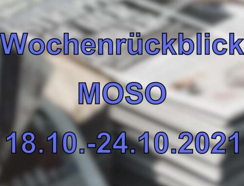 Wochenrückblick: Kurznachrichten aus den MOSO-Ländern (18.10. – 24.10.2021)