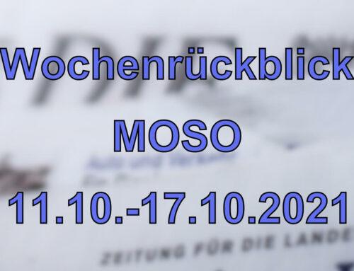 Wochenrückblick: Kurznachrichten aus den MOSO-Ländern (11.10. – 17.10.2021)