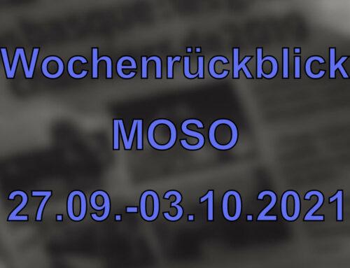 Wochenrückblick: Kurznachrichten aus den MOSO-Ländern (27.09. – 03.09.2021)